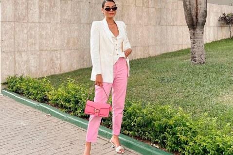 13 looks para te inspirar a usar rosa no trabalho
