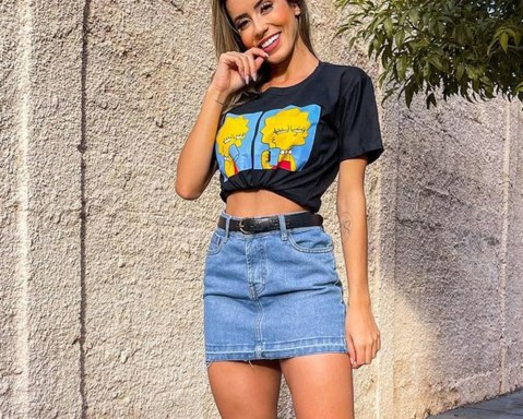 15 looks para quem ama saia jeans