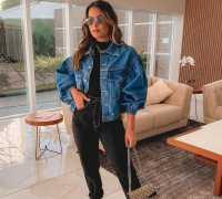 Jeans com preto: 12 ideias de looks com o duo