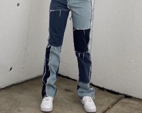 Alerta de tendência: calça com patchwork