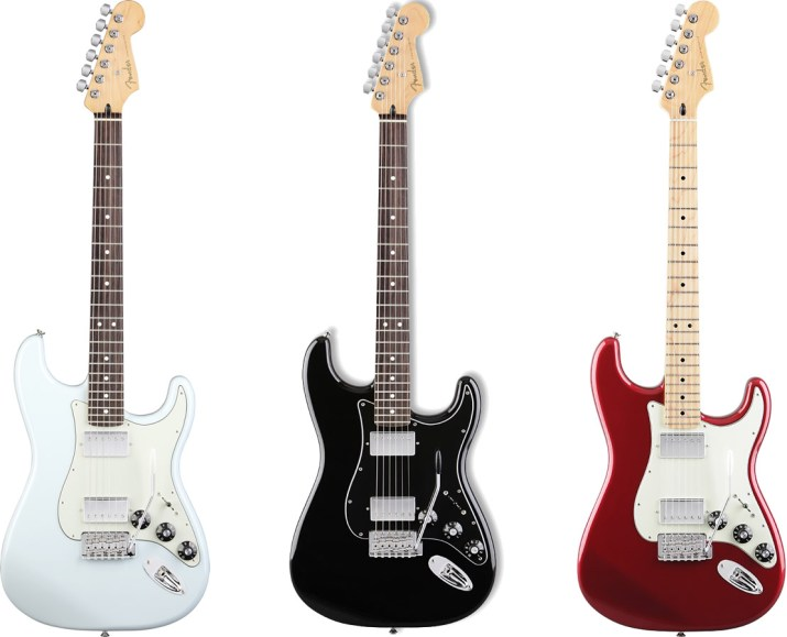 Blacktop Stratocaster HH