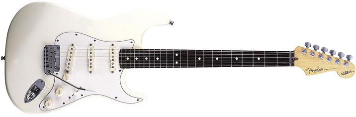 ジェフ・ベック(Jeff Beck)の使用エレキギター