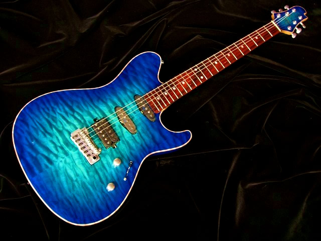 DS496C 5AQM/AT/SSH/324 Bahama Blue Burst