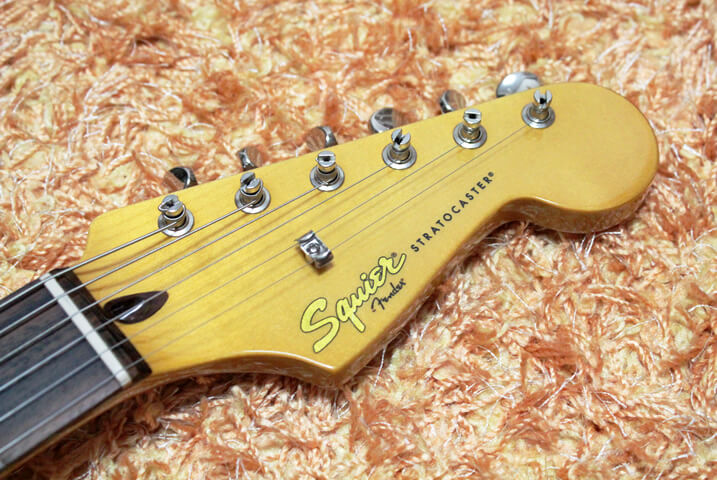 Squier by Fender Classic Vibe Stratocaster '60sのヘッド部分