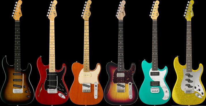 G&L Guitars のエレキギター