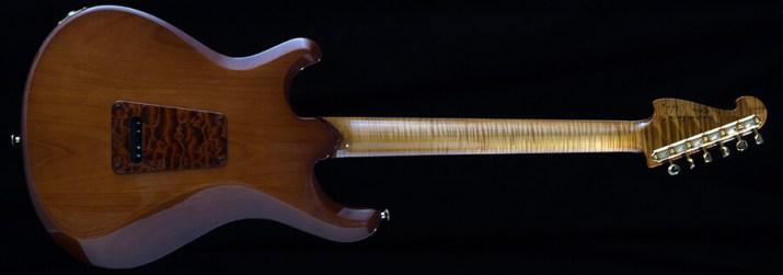 Knaggsギターのボディ・バック