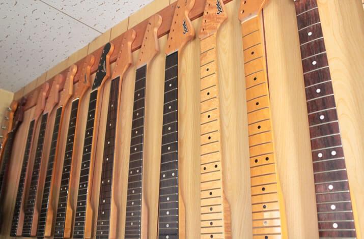 Sonicギターの工房