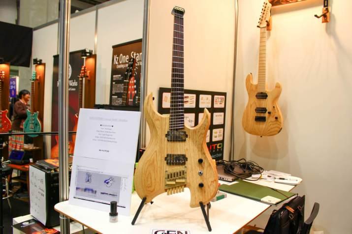 SAITO GUITARSヘッドレス・ギター