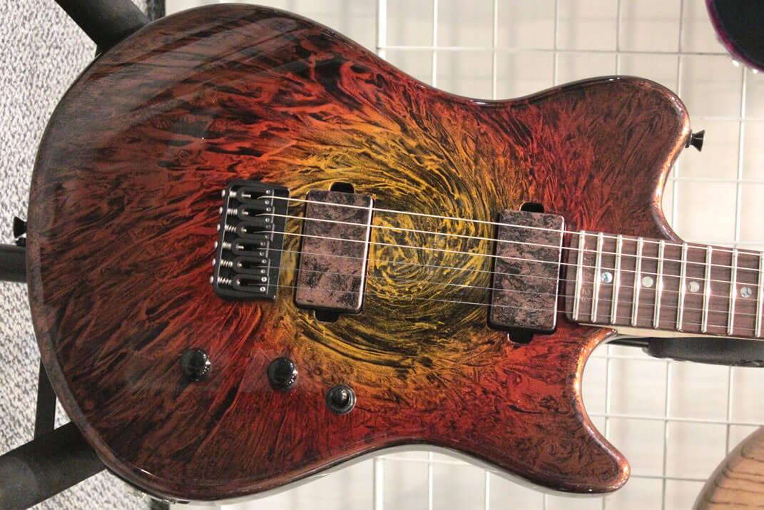 Dynaラップ塗装のギター
