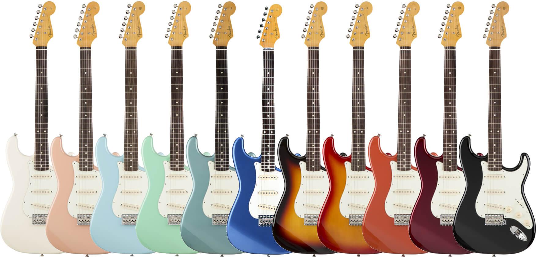 Fender Japan Classic 60s Strat