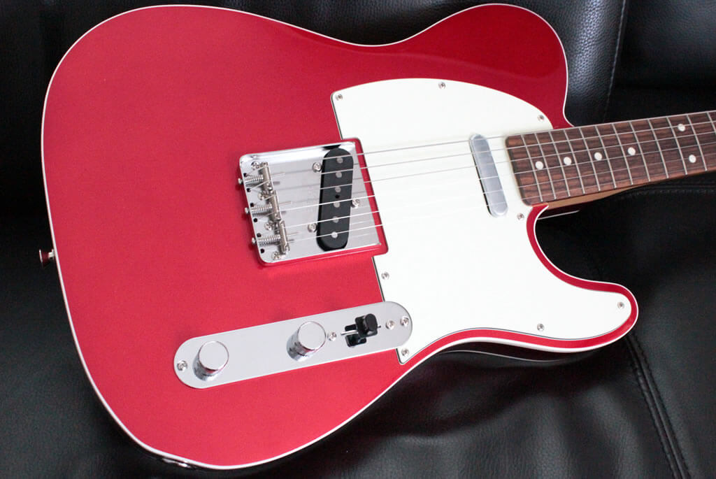 Classic 60s Tele Custom Candy Apple Red