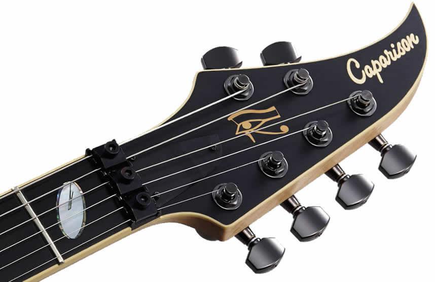 キャパリソン・ギターのヘッド