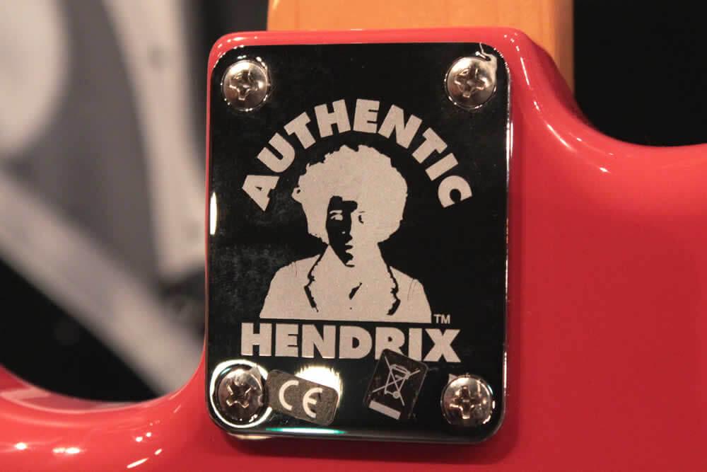 Jimi Hendrix Monterey Stratocaster:ジョイントプレート