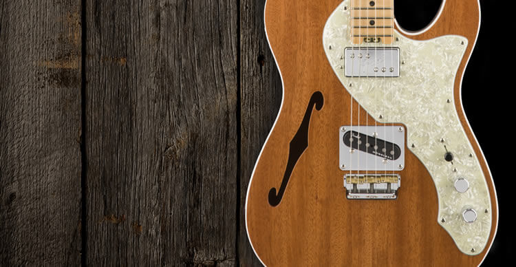 2017 LIMITED EDITION AMERICAN ELITE MAHOGANY TELE THINLINE