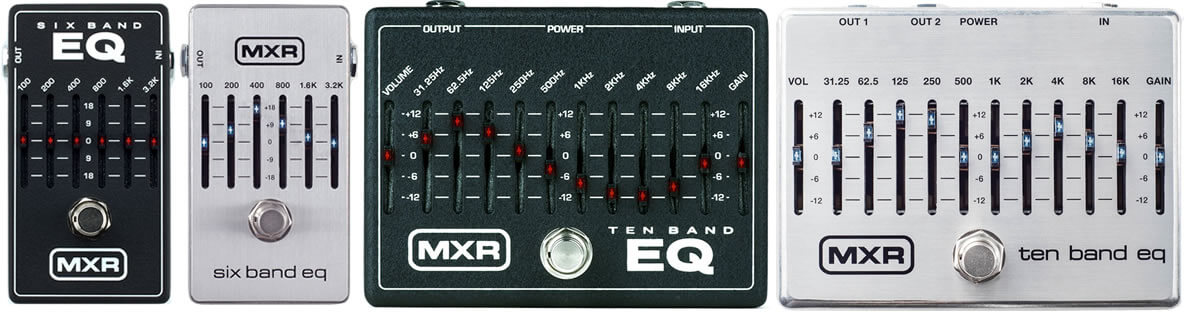 MXR Band EQシリーズ