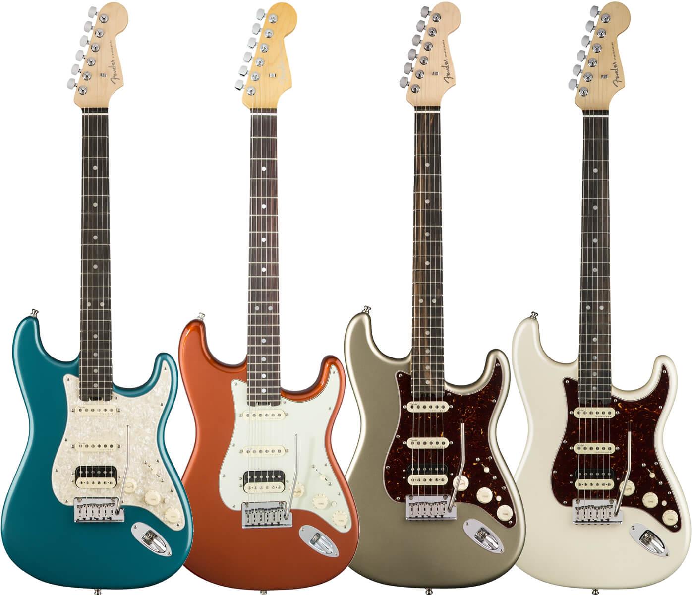 American Elite Stratocaster HSS Ebony