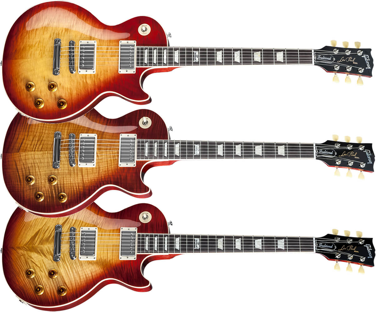 Les Paul Traditional 120 Flame Top