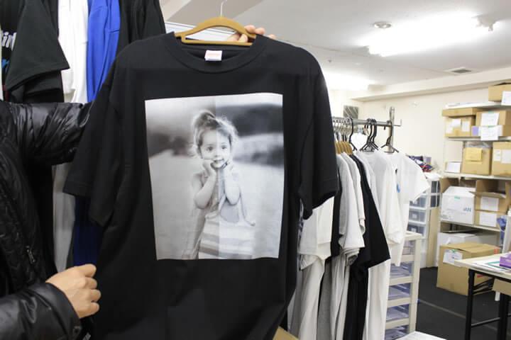 Tシャツのプリント2