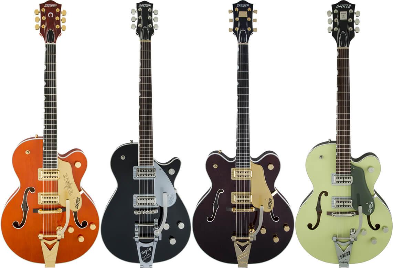 グレッチ・ギターのカラー