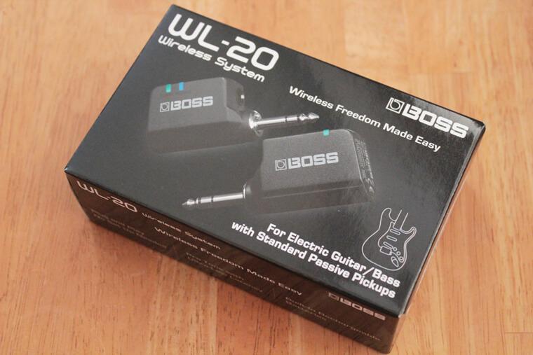 BOSS WL-20:パッケージ