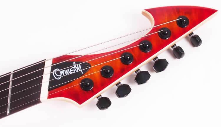 Ormsby Guitars:ヘッド