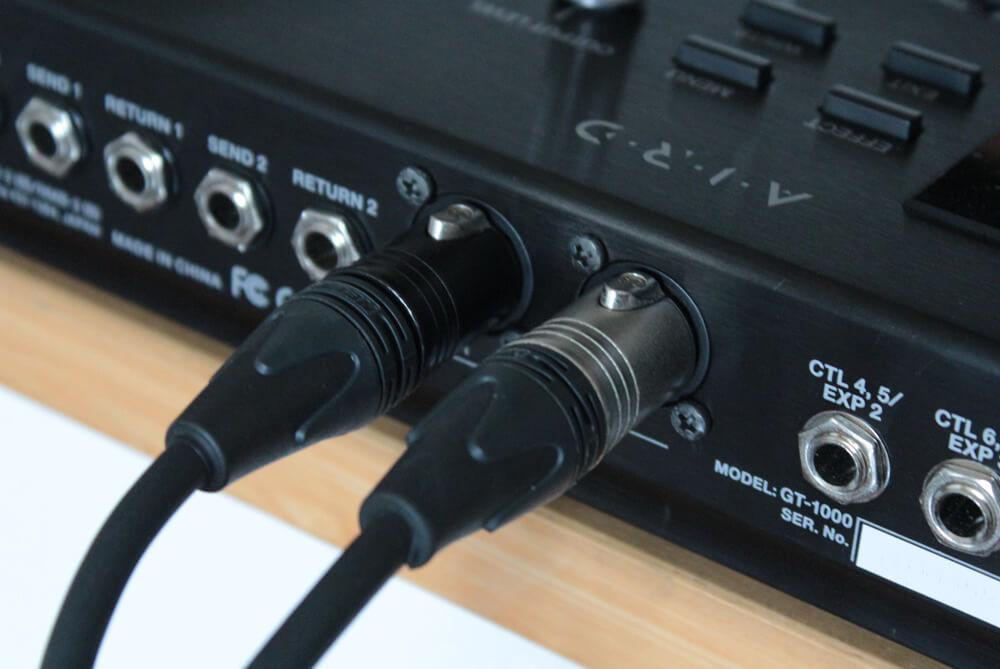 GT-1000:XLR端子
