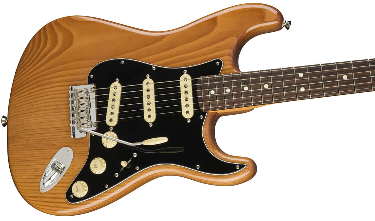 Professional II Stratocaster Roasted Pine