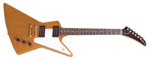 U2 Edge Gibson Explorer Guitar