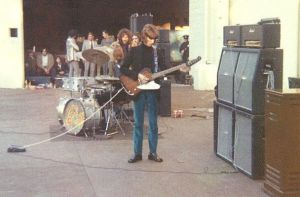 Eric Clapton Farewell Cream Tour Live Guitar and Amp Rig