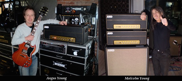 Aguns Malcom ACDC Marshall Amplifiers