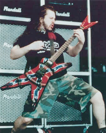 Dimebag Confederate Flag Guitar