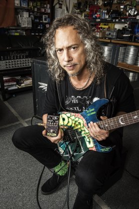 Kirk Hammett Metallica KHDK Ghoul Screamer Pedal