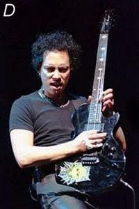 kirk hammett eclipse esp guitar