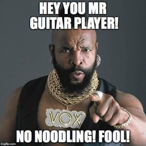 mr t no noodling