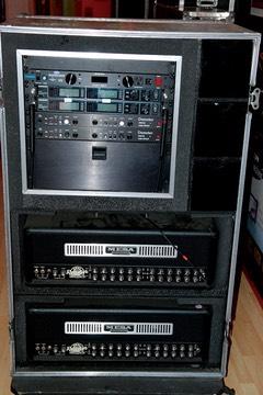 Dave Grohl Studio Guitar Rack Mesa Rectifier Heads
