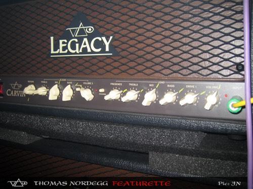Steve Vai Carvin Legacy Head Setings