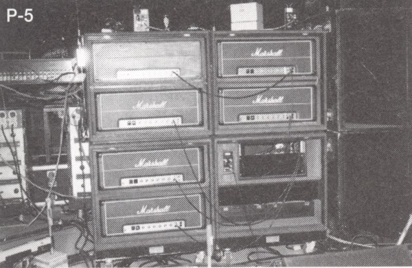 EVH Stack of marshall heads