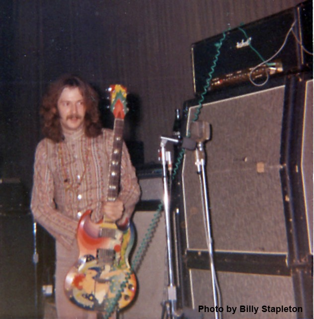 Eric Clapton Cream Gibson SG Guitar Rig with Marshall Stack