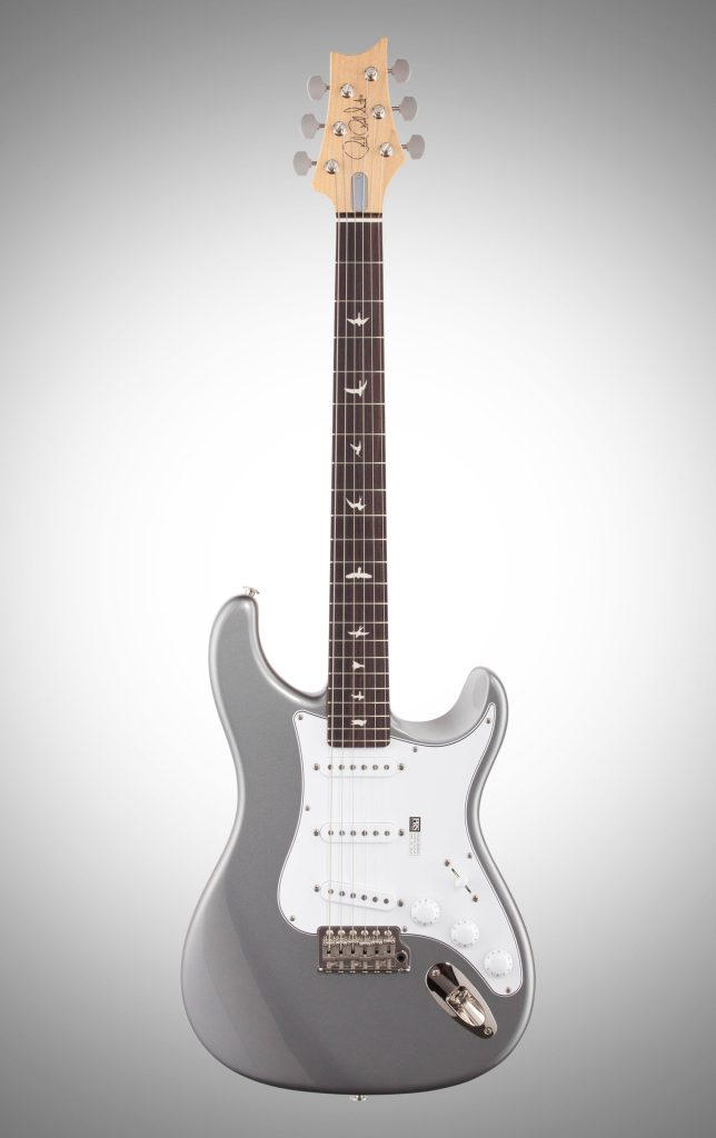 john mayer's prs silver sky guitar
