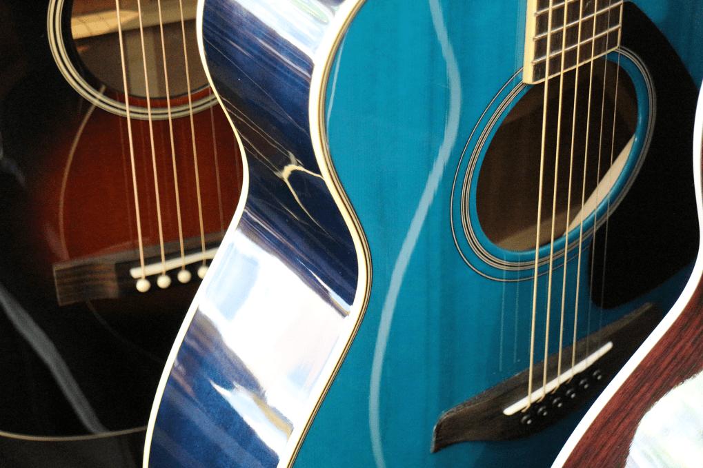Gitarren Im Guitar Shop