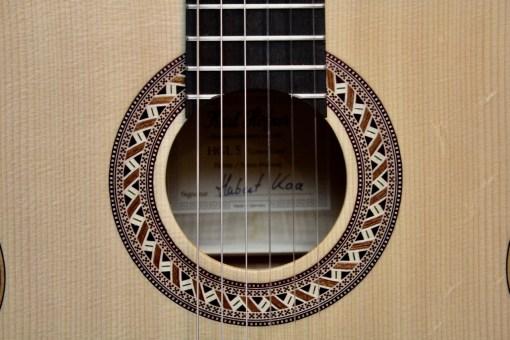 Höfner HGL5 Green Line Konzertgitarre2