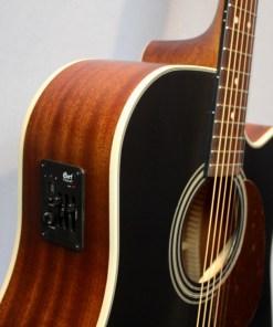 Cort MR 500E blk Westerngitarre1