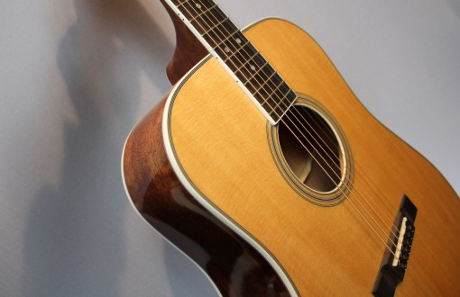 Larson Stetson Style 1 Westerngitarre2