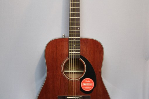 Fender CD-60S All Mahagoni Folkgitarre