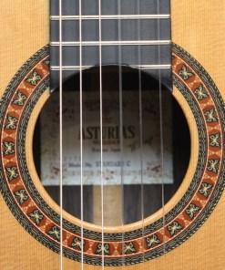 Asturias Standard C Konzertgitarre Schallloch