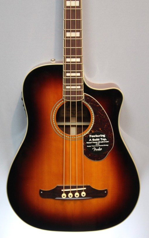 Fender Kingman SCE 3SB Akustikbass 2