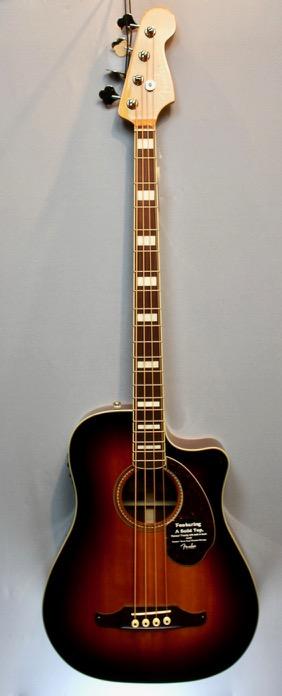 Fender Kingman SCE 3SB Akustikbass 1