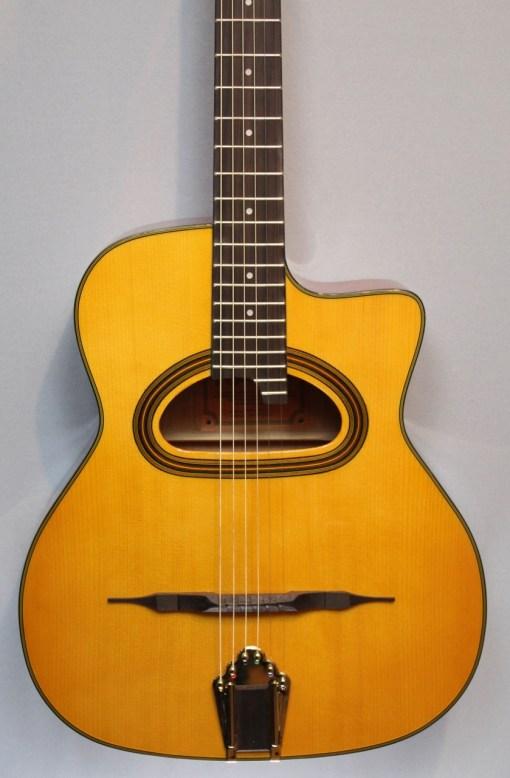 Richwood RM-140-NT Jazz Gitarre Selmer Style - Hot Club 3