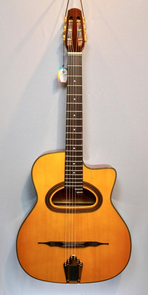 Richwood RM-140-NT Jazz Gitarre Selmer Style - Hot Club 2
