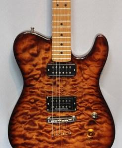 Berlin Custom Guitars Telley baked Maple 4